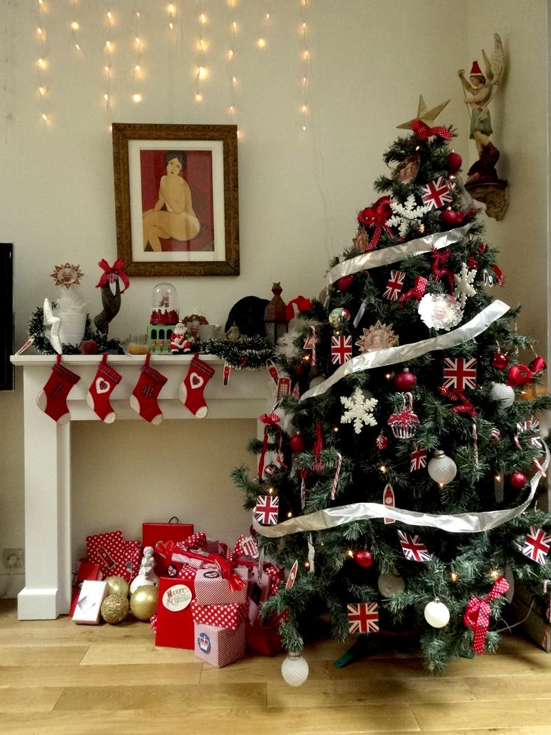Décoration et soirée de Noël dans l'atelier