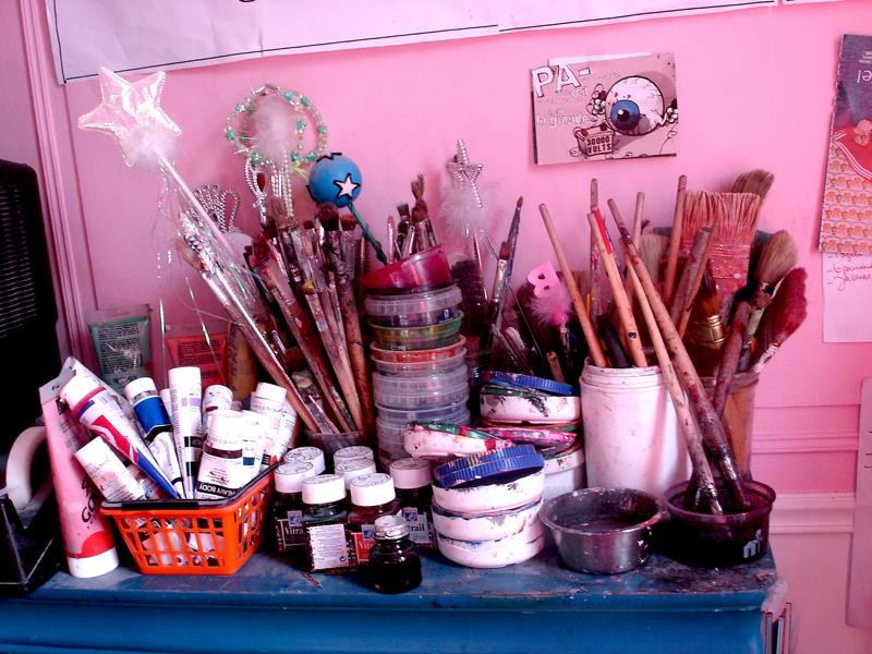 Mon travail d'artiste peintre