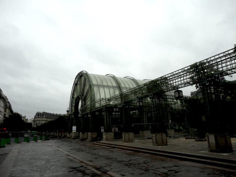 Debut du chantier du Forum des Halles