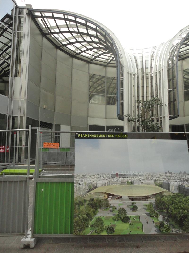 Démolition du Forum des Halles