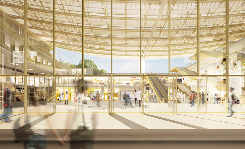 Photo du future projet du Forum des Halles