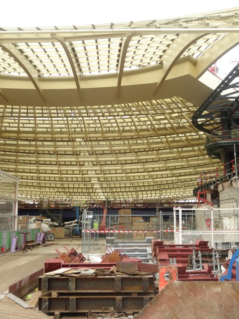 Les travaux du Forum des Halles