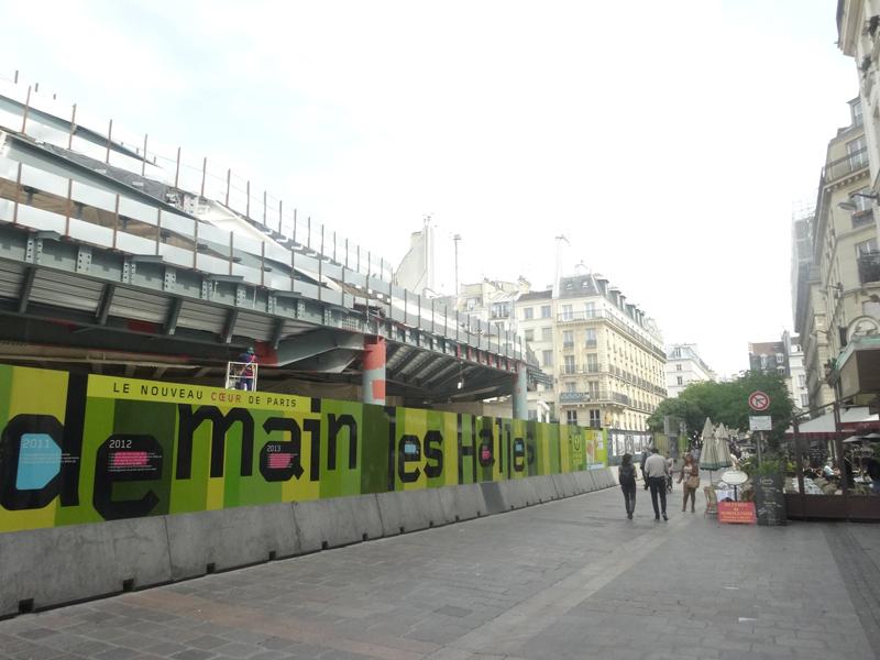 Forum des Halles Le chantier