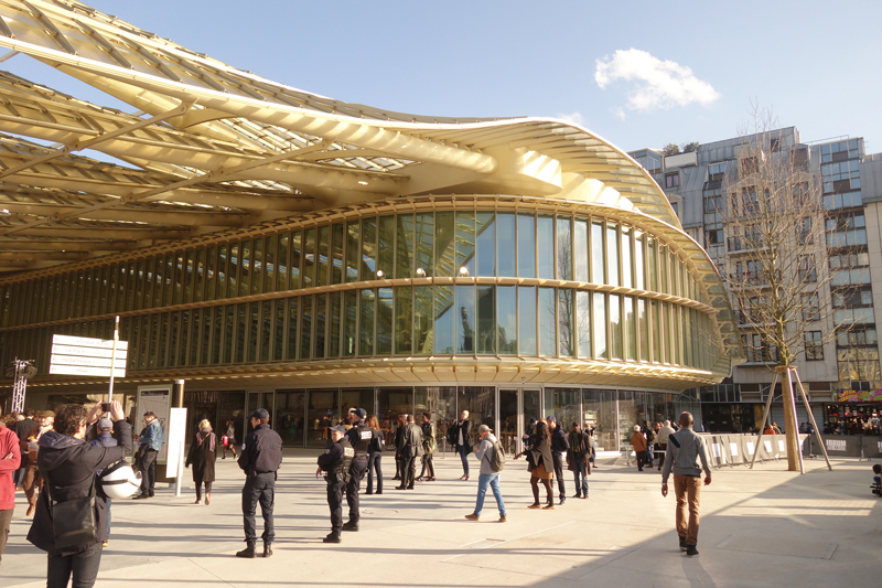 Inauguration du Forum des Halles de Paris