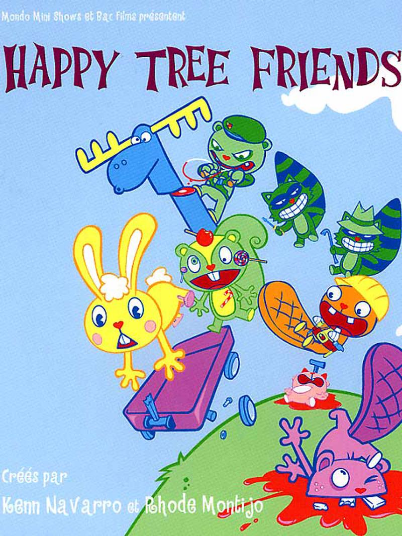 Série Happy Tree Friends